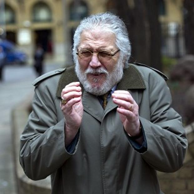 Maldon and Burnham Standard: Former DJ Dave Lee Travis arrives at Southwark Crown Court in London, where he is accused of a series of indecent assaults and one sexual assault.