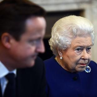 David Cameron says he enjoys talking politics with the Queen
