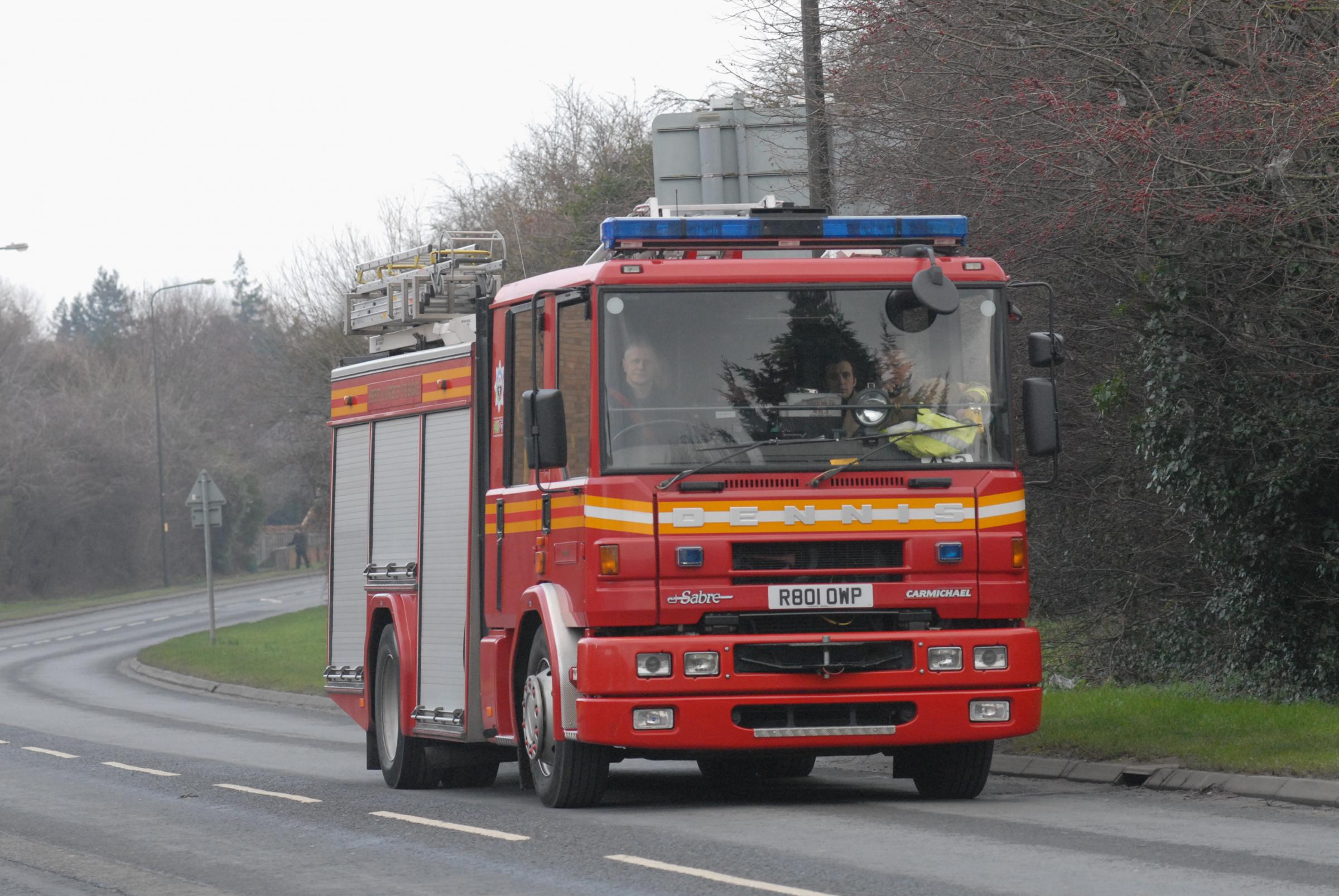 Fire fighters called to kitchen fire in Tillingham last night
