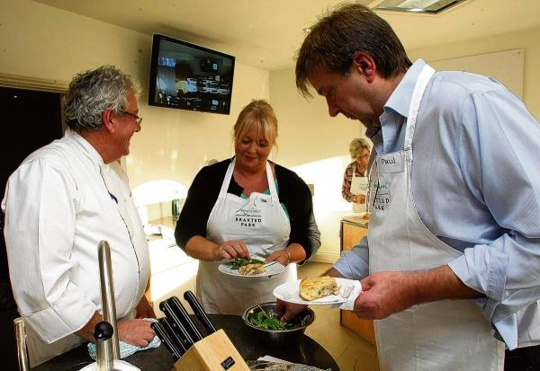 Maldon and Burnham Standard: The cookery school at Braxted Park