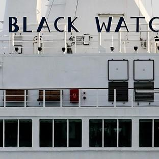 The Black Watch set sail from Southampton