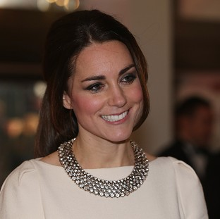 Kate dazzles on return to duties