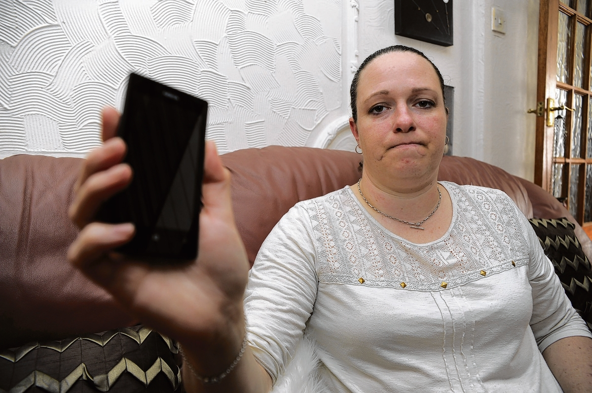 Ali Kirkham from Burnham is one of a number of customers with mobile phone signal issues