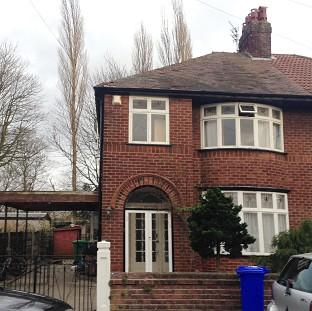 Maldon and Burnham Standard: A house linked to student Abu Layth in Didsbury, Manchester, which was searched by police