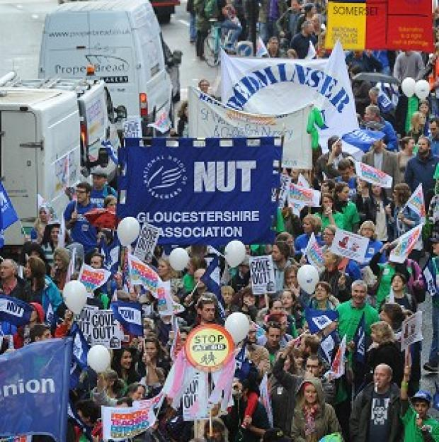 "Maldon and Burnham Standard: NASUWT's national executive said it remains ""deeply concerned"" about Government education policies, but its members will not be staging a walkout this term"