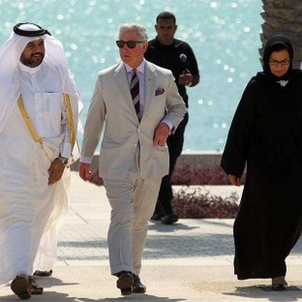 Maldon and Burnham Standard: The Prince of Wales in Doha, Qatar (AP)