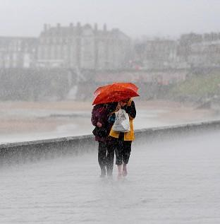 Maldon and Burnham Standard: Almost two weeks' rain is expected to fall in parts of Britain overnight