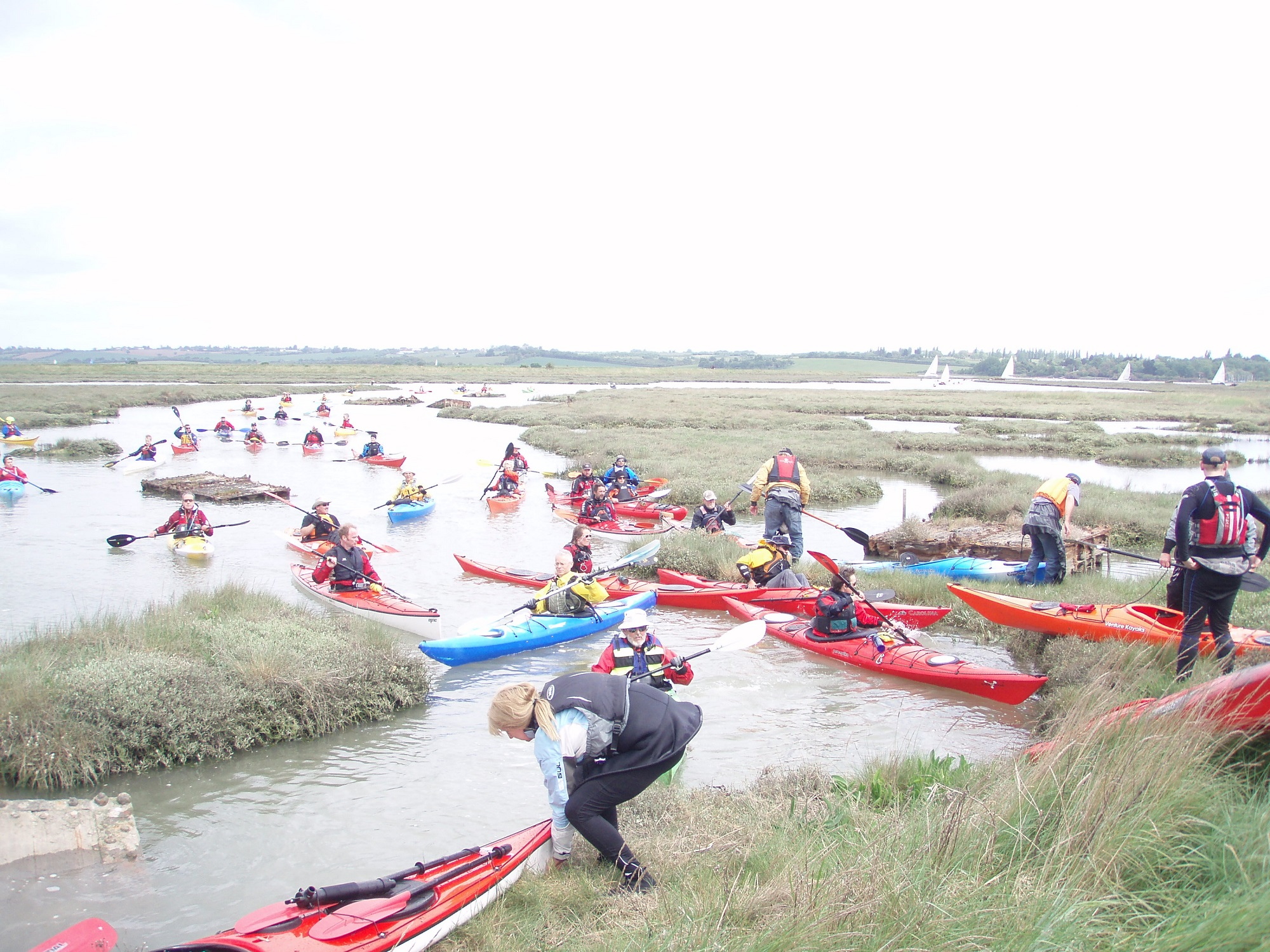 There will be a new kayak section at Burnham Sailing Club