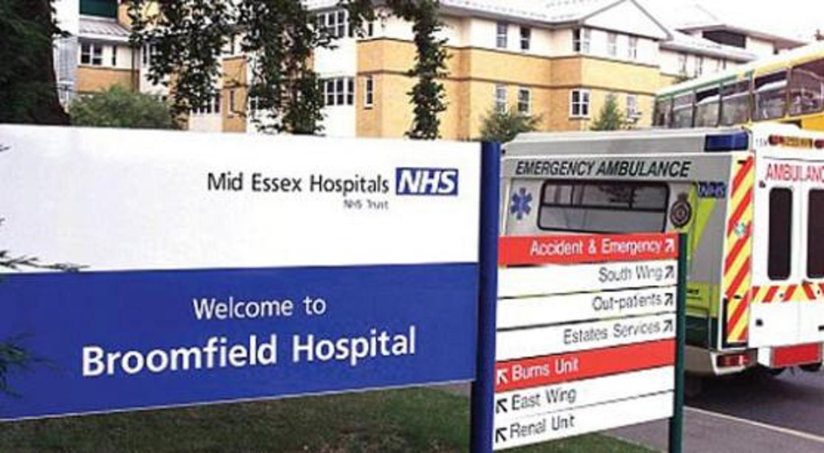 Broomfield Hospital was too unsafe for Harrison Ward to stay