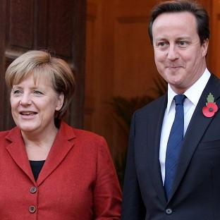 Maldon and Burnham Standard: Prime Minister David Cameron will hold talks with German chancellor Angela Merkel