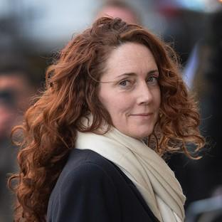 Maldon and Burnham Standard: Rebekah Brooks arrives at the Old Bailey in London.