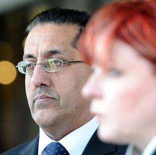 Maldon and Burnham Standard: Nazir Afzal with Detective Chief Superintendent Mary Doyle outside Manchester Crown Court after a successful prosecution