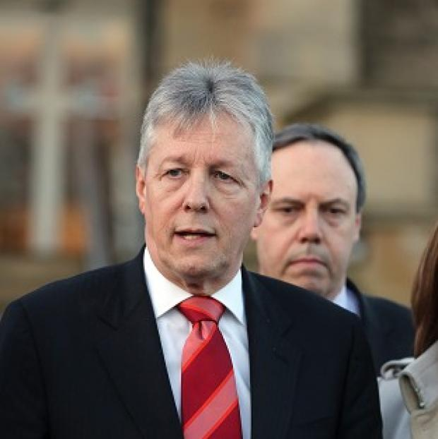 Maldon and Burnham Standard: First Minister Peter Robinson had threatened to resign over the controversy about on-the-run republicans
