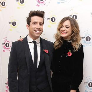 Fearne Cotton had to step in for Nick Grimshaw when he had to go to hospital