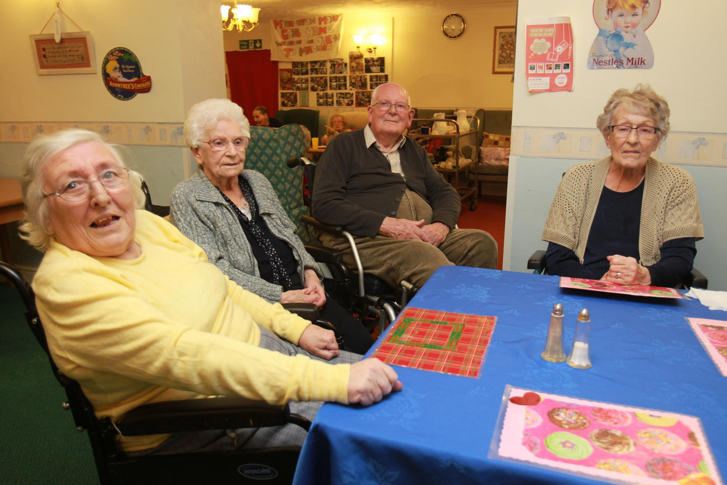 Former residents at the Middleton Manor care
