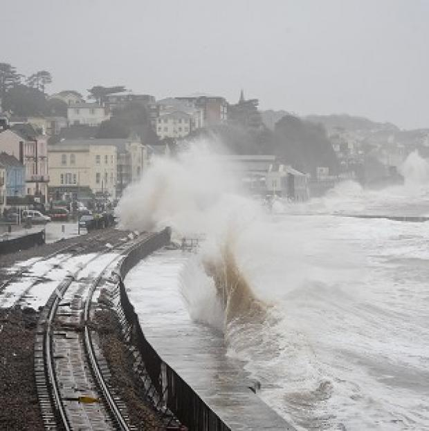 Maldon and Burnham Standard: Damage to the railway in Dawlish, Devon, reduced train punctuality