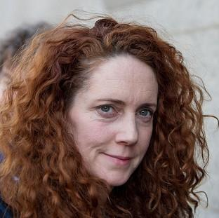 Former News International chief executive Rebekah Brooks arrives at the Old Bailey in London, as the phone hacking trial continues