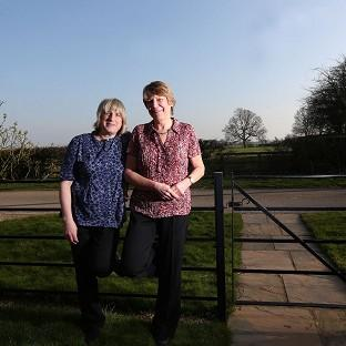Celia Kitzinger (left) and Sue Wi