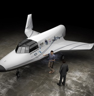 XCOR hoping to win the space race