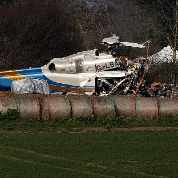 Maldon and Burnham Standard: Investigators have begun recovering debris from last week's fatal helicopter crash in Norfolk