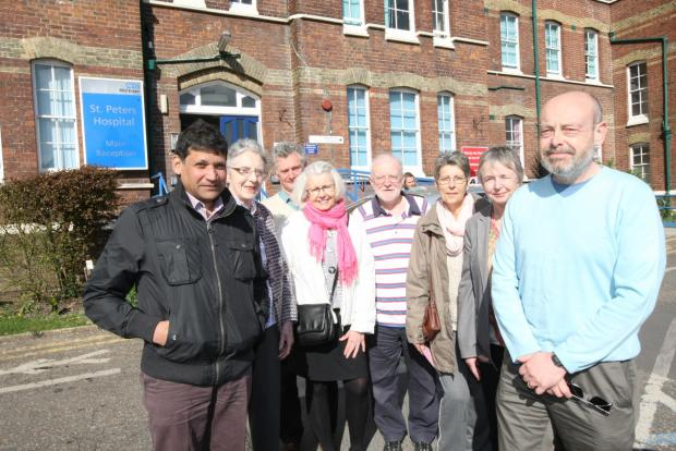 Blackwater and Longfield Patient Reference Groups organised the meeting