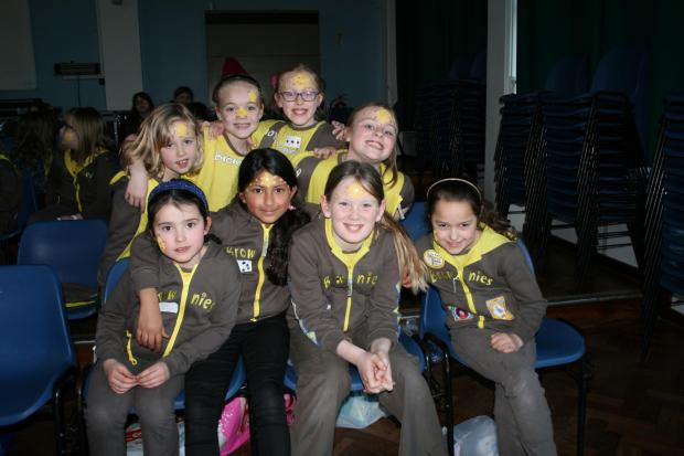 Brownies from across Maldon division took part in Star Quest to mark Brownies 100th anniversary