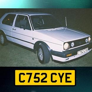 Undated handout photo issued by Avon and Somerset Police of a white VW Golf GTi hardtop, registration C752 CYE, police investigating the murder of university graduate Melanie Hall nearly 20 years ago are to make a new appeal for information on the BBC Cri