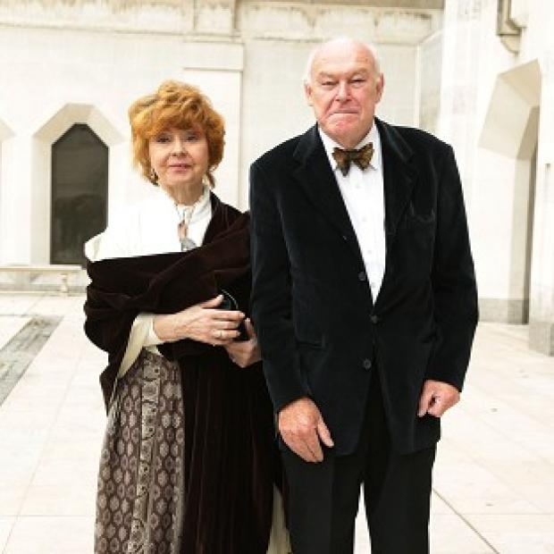 Maldon and Burnham Standard: Timothy West and his wife Prunella Scales