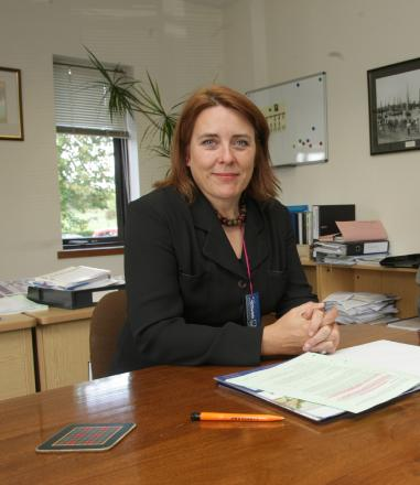 Maldon District Council chief executive Fiona Marshall is backing an overhaul of senior management