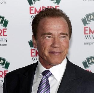 Maldon and Burnham Standard: Arnold Schwarzenegger attending the Empire Magazine Film Awards held at the Grosvenor Hotel in London.