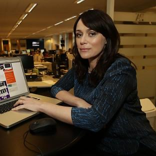 Keeley Hawes said online safety for children 'is vitally important in a society increasingly influenced by digital media'
