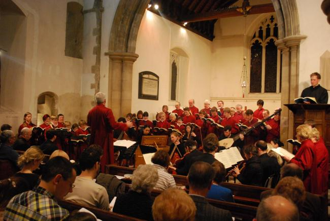 Last year's performance of Bach's St John Passion