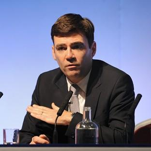 "Maldon and Burnham Standard: Andy Burnham attacked ""the scandalous waste caused by David Cameron's NHS re-organisation"""