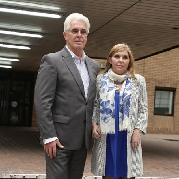 Maldon and Burnham Standard: Max Clifford and his daughter Louise Clifford outside Southwark Crown Court