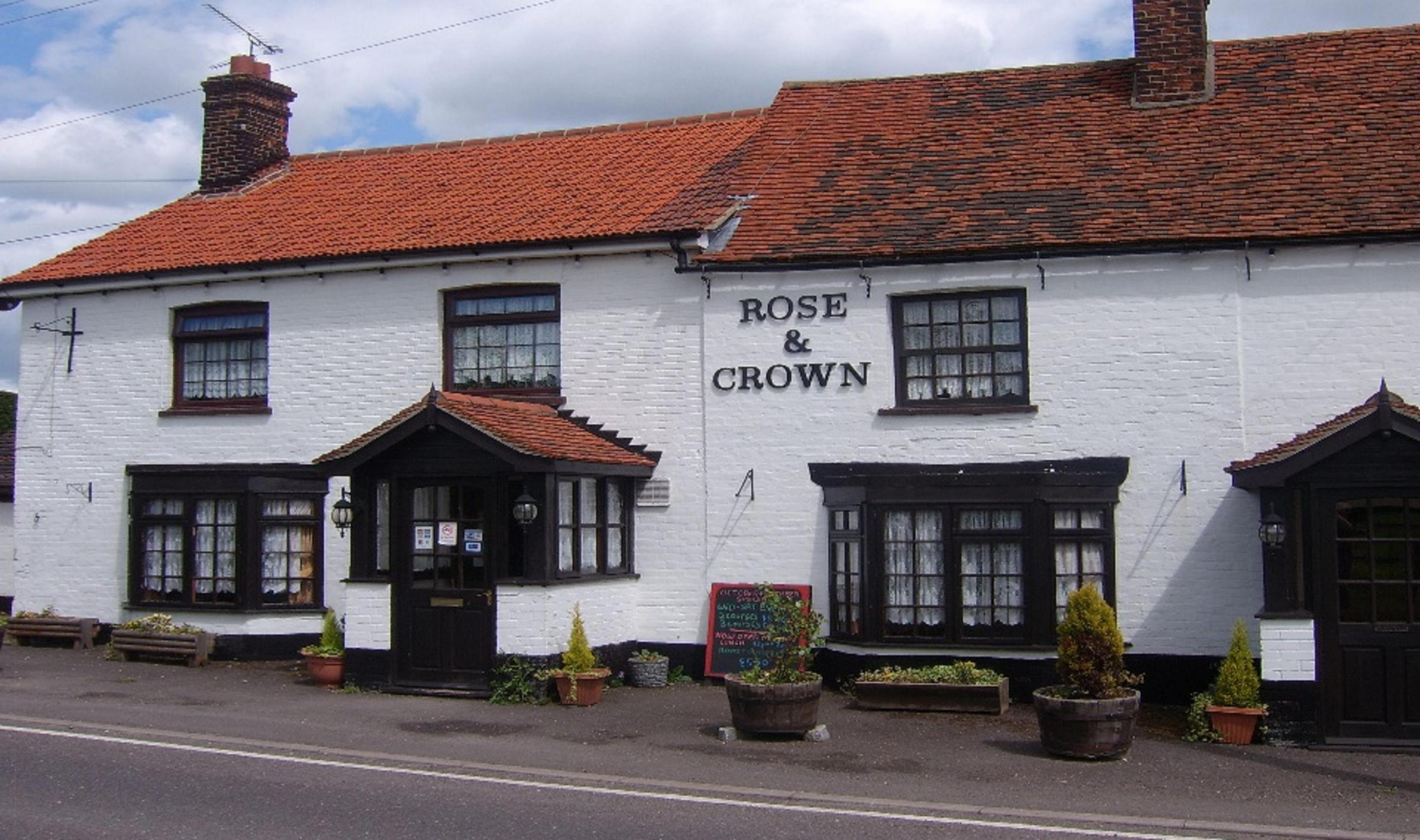 The Rose and Crown is no longer a viable business
