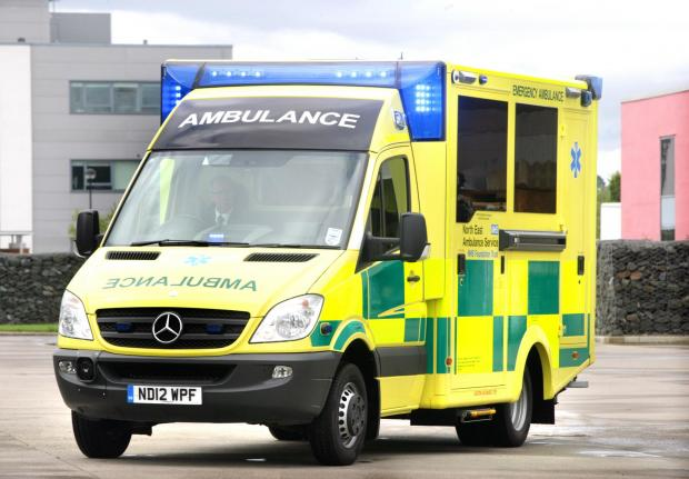 Maldon and Burnham Standard: MP John Whittingdale feels the ambulance should be for local call-outs