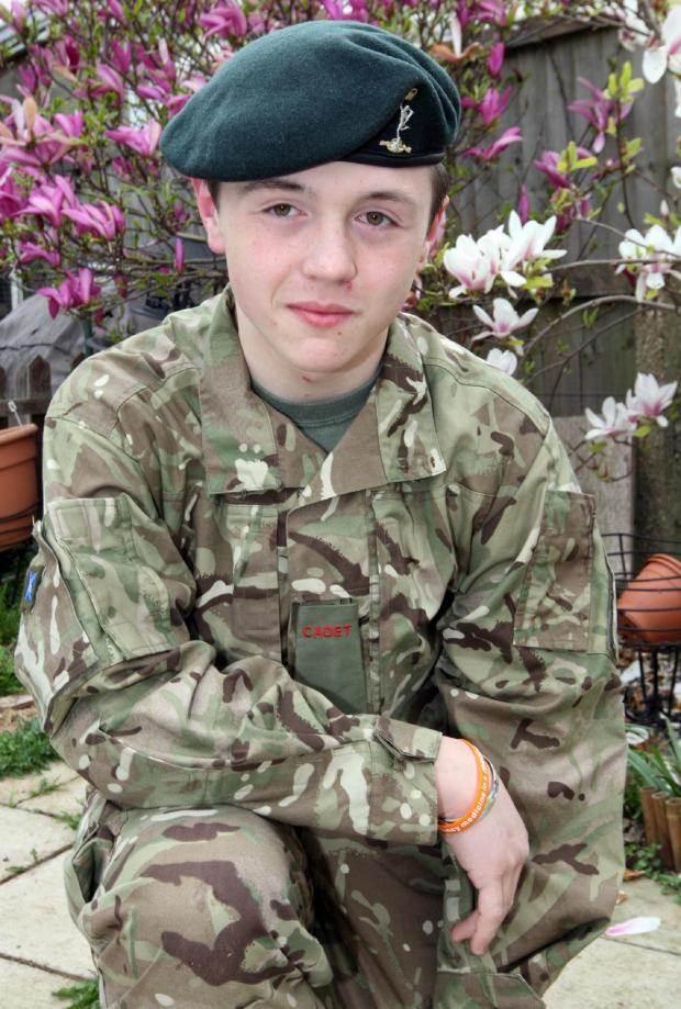 Maldon and Burnham Standard: Southminster lad Tom Newman-Clark hopes to sue the Ministry of Defence