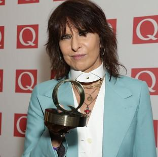 Rock star Chrissie Hynde has condemned alcohol as being the same as drug addiction and slammed TV talent shows