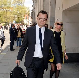 Maldon and Burnham Standard: Former News of the World editor Andy Coulson outside the Old Bailey