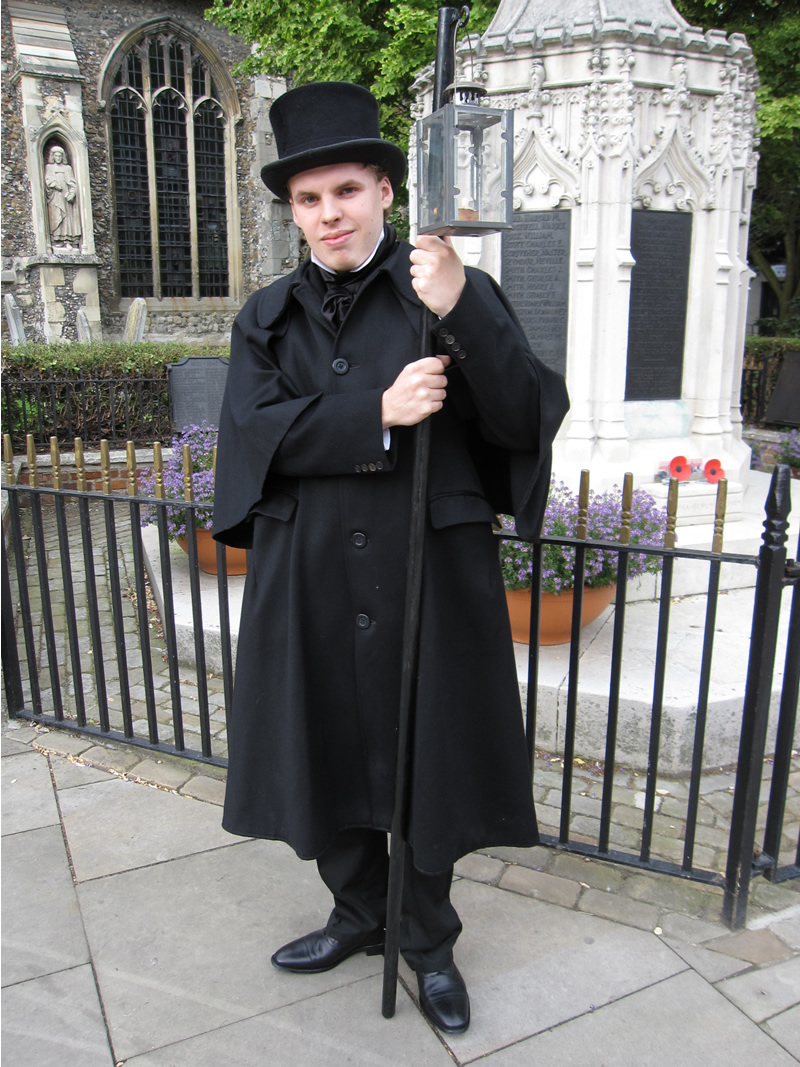 Andrew Steel, during one of the ghost walks