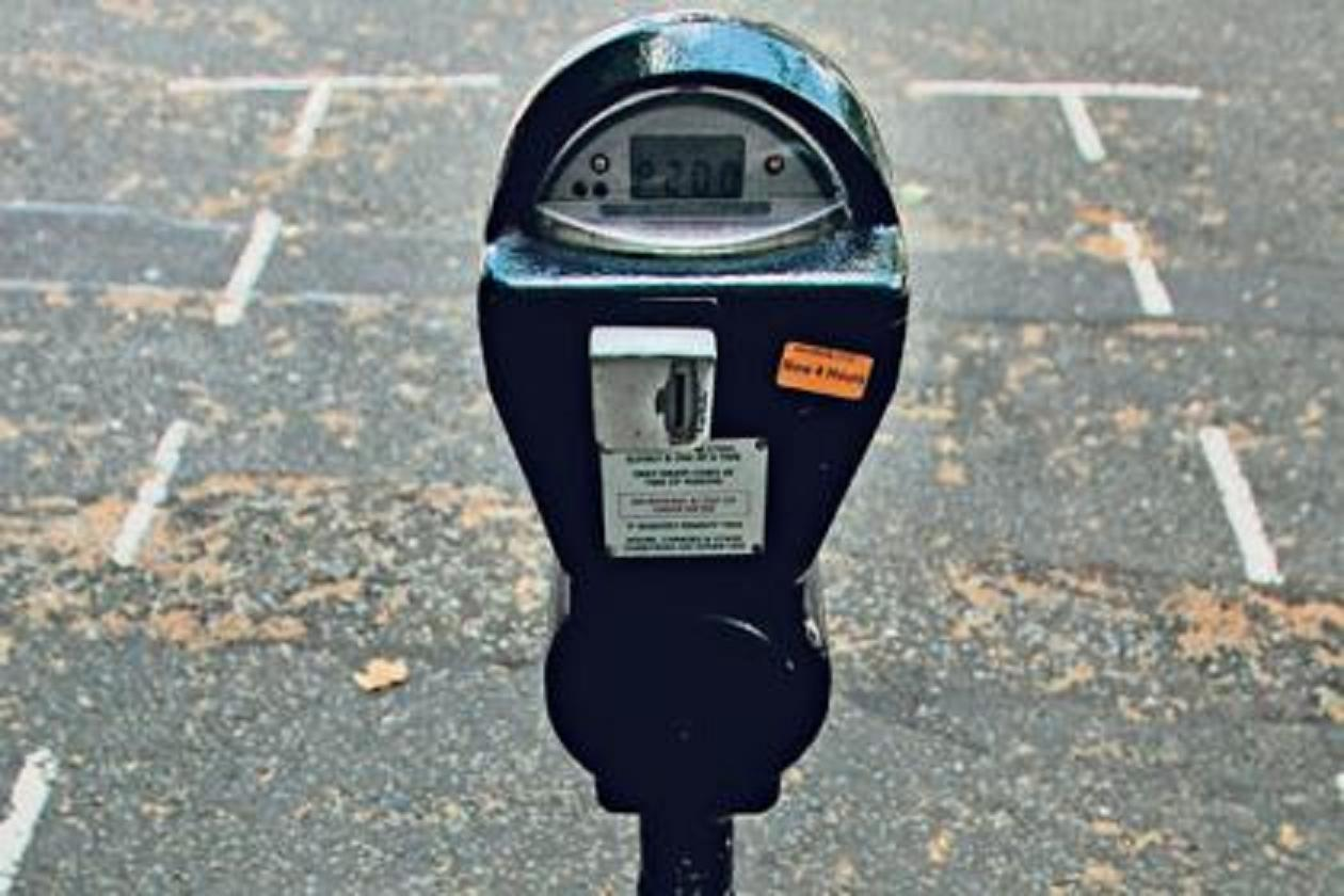 Thieves are targeting parking meters