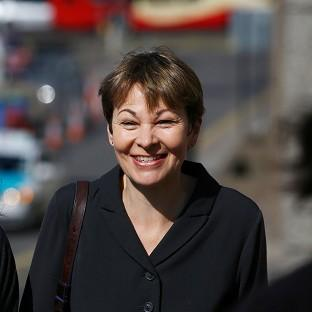 Green MP Caroline Lucas arrives at Brighton Magistrates' Court