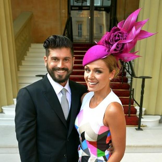 Maldon and Burnham Standard: Katherine Jenkins and Andrew Levitas at Buckingham Palace when she received an OBE last month.