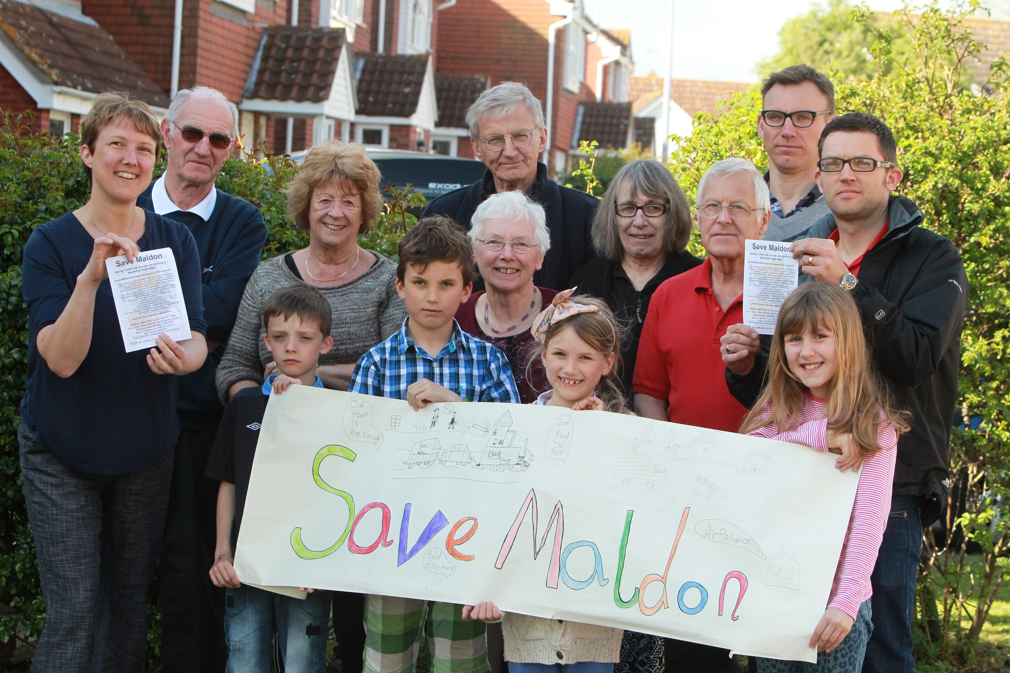 The Save Maldon Action Group has also launched a petition