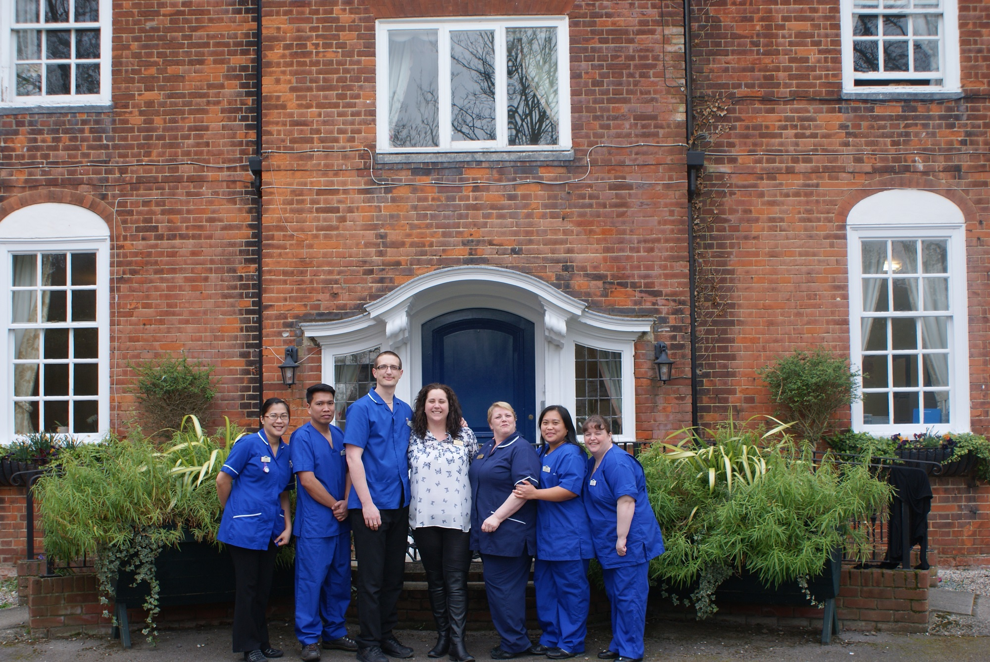 Staff at Firstlings care home in Heybridge