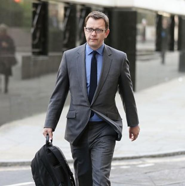 Maldon and Burnham Standard: Former News of the World editor Andy Coulson arrives at the Old Bailey, as the phone-hacking trial continues