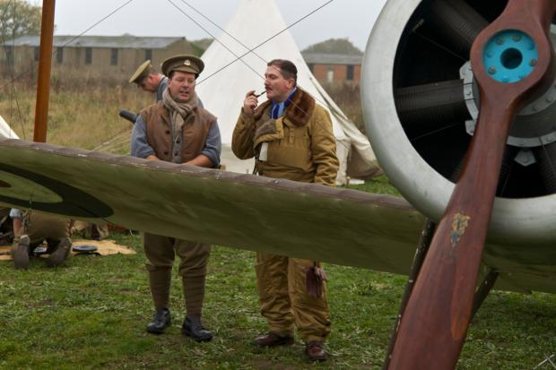 Experience wartime life at Stow Maries Aerodrome