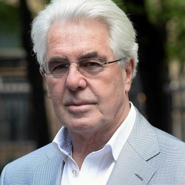 Maldon and Burnham Standard: Publicist Max Clifford arrives at Southwark Crown Court in London