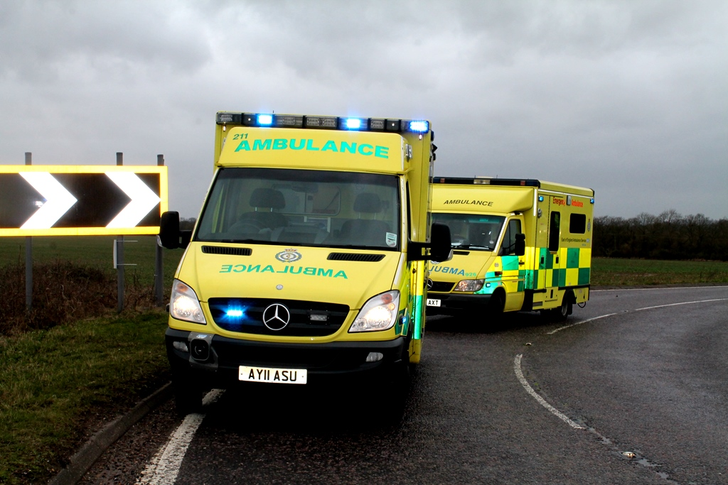 Ambulance times have almost tripled in 14 months