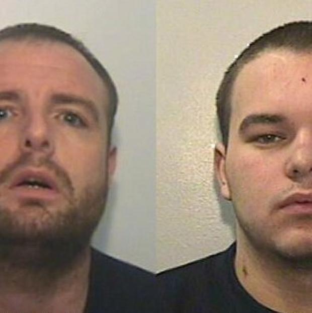 Maldon and Burnham Standard: Stevie McMullen, 31 (left) and Ryan MacDonald, 20, (right).